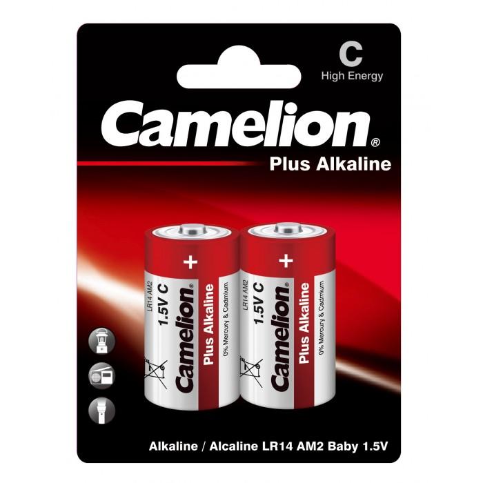 Электронные игрушки CAMELION Батарейка LR14-BP2