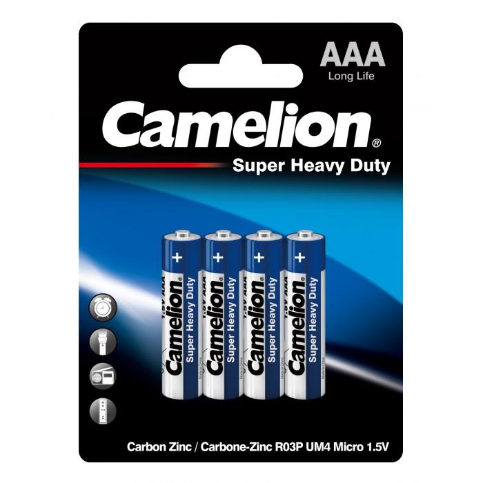 Батарейки, удлинители и переходники Camelion Батарейка R03P-BP4B