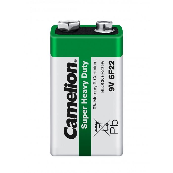 Батарейки, удлинители и переходники Camelion Батарейка 6F22-SP1G батарейка camelion ag9 10 шт блистер