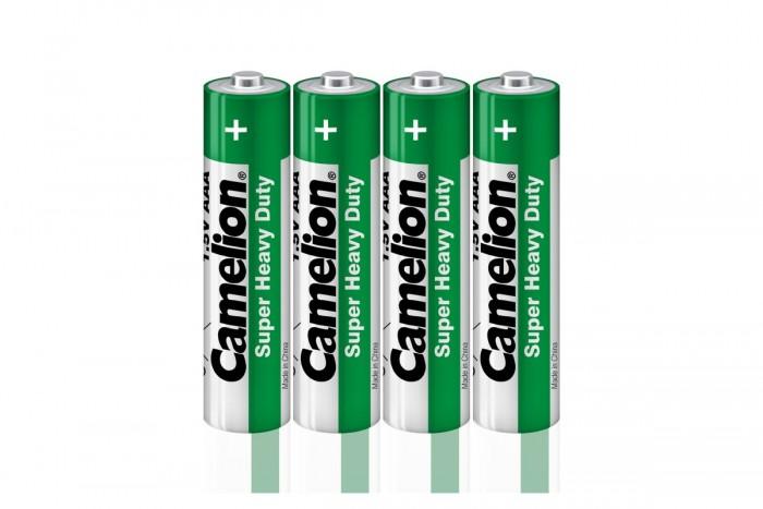 Батарейки, удлинители и переходники Camelion Батарейка R03P-SP4G