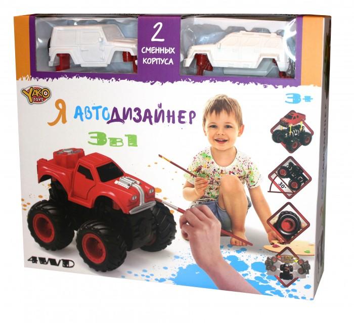 Купить Наборы для творчества, Yako Игровой набор Я Автодизайнер 3 в 1 M6540-2