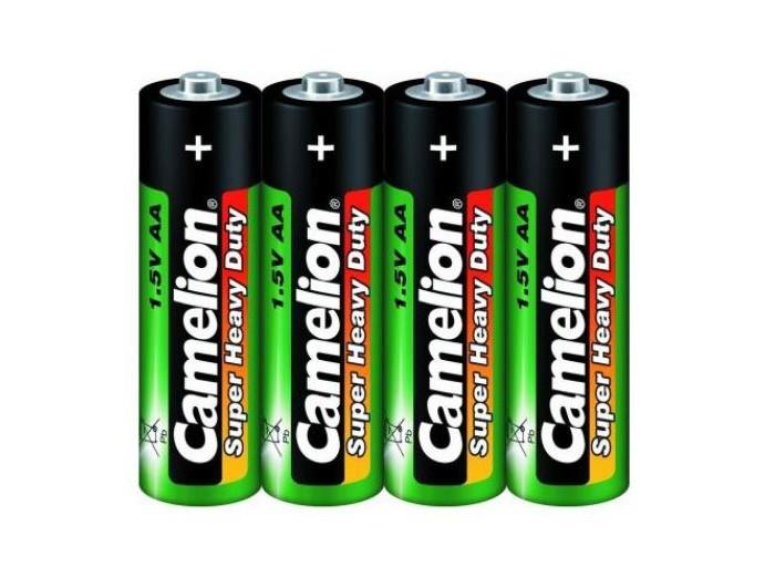 Батарейки, удлинители и переходники Camelion Батарейка R6P-SP4G батарейка camelion ag9 10 шт блистер