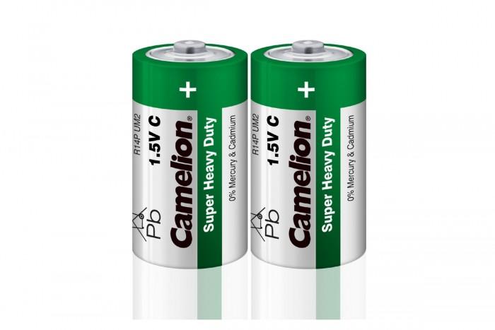 Батарейки, удлинители и переходники Camelion Батарейка R14P-SP2G батарейка camelion ag9 10 шт блистер