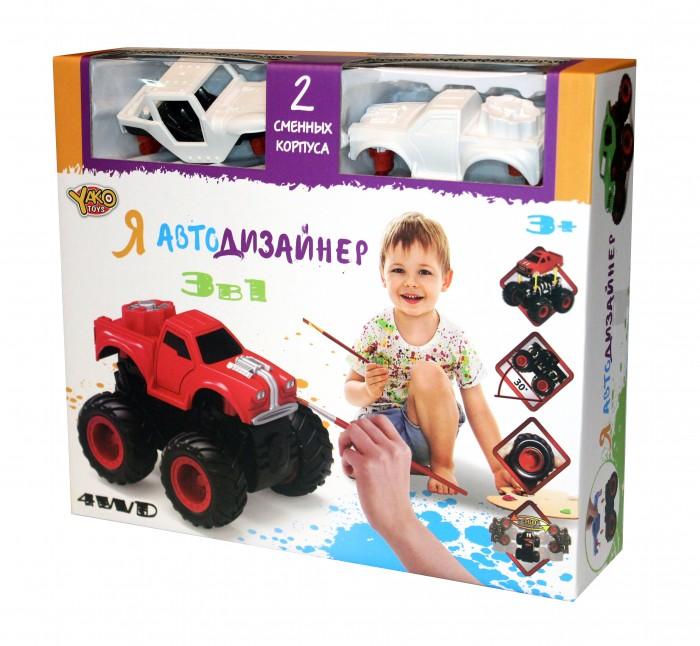 Купить Наборы для творчества, Yako Игровой набор Я Автодизайнер 3 в 1 M6540-3