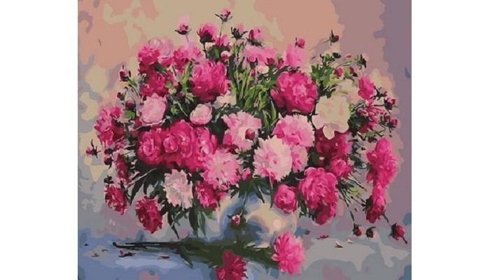 цена на Картины по номерам Paintboy Картина по номерам Букет садовых цветов