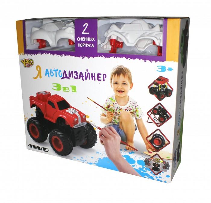 Купить Наборы для творчества, Yako Игровой набор Я Автодизайнер 3 в 1 M6540-5