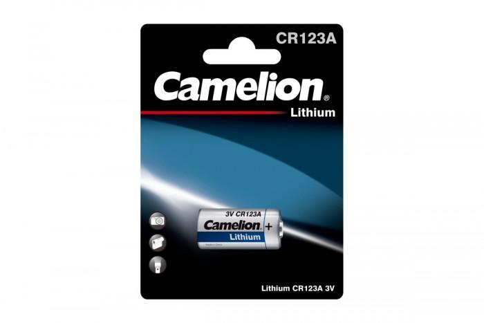 Батарейки, удлинители и переходники Camelion Батарейка CR123A-BP1
