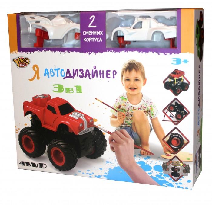 Купить Наборы для творчества, Yako Игровой набор Я Автодизайнер 3 в 1 M6540-4