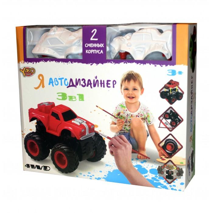 Купить Наборы для творчества, Yako Игровой набор Я Автодизайнер 3 в 1 M6540-6