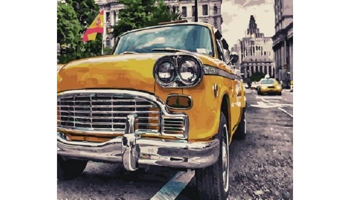 Картины по номерам Paintboy Картина Ретро авто