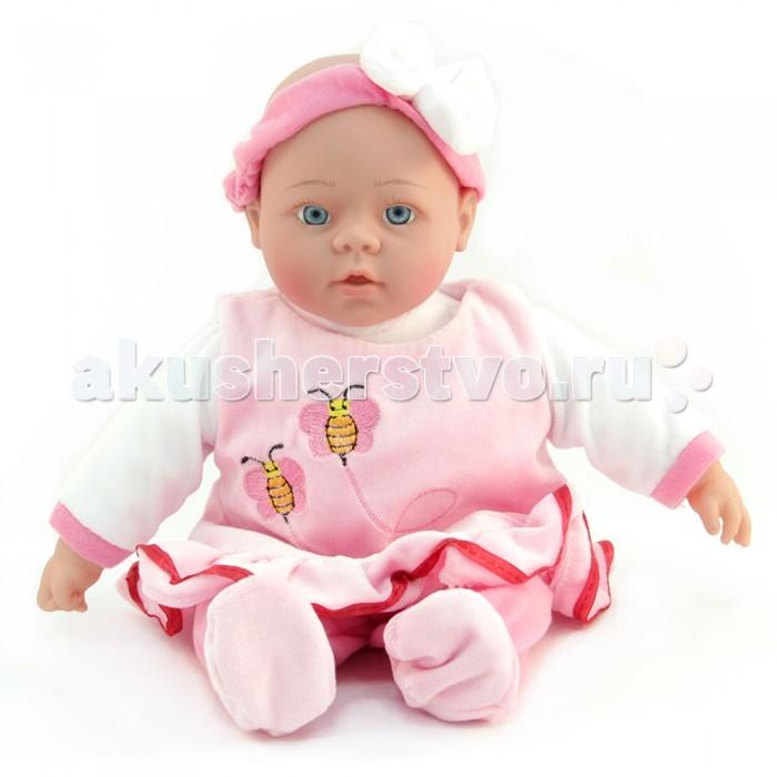 Куклы и одежда для кукол Lisa Jane Кукла интерактивная в розовом платье 40 см куклы lisa jane кукла фарфоровая сара 18