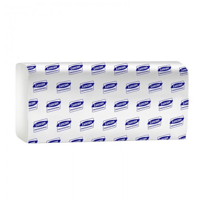 Хозяйственные товары Luscan Professional Полотенца бумажные для диспенсеров 2-х слойные 150 листов 21 шт. полотенца бумажные 110 шт tork система h2 premium комплект 21 шт 2 слойные белые 21х34 interfold 100288