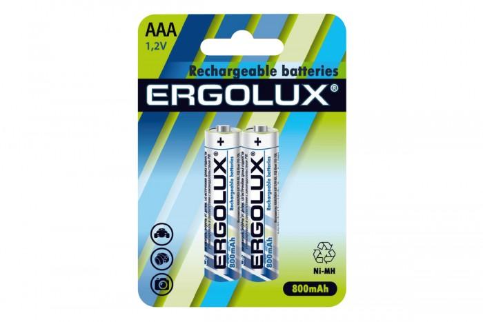 Электронные игрушки Ergolux Аккумулятор AAA-800mAh Ni-Mh BL-2