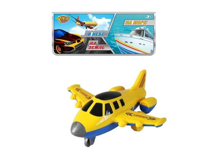 Вертолеты и самолеты Наша Игрушка Самолет инерционный M9985