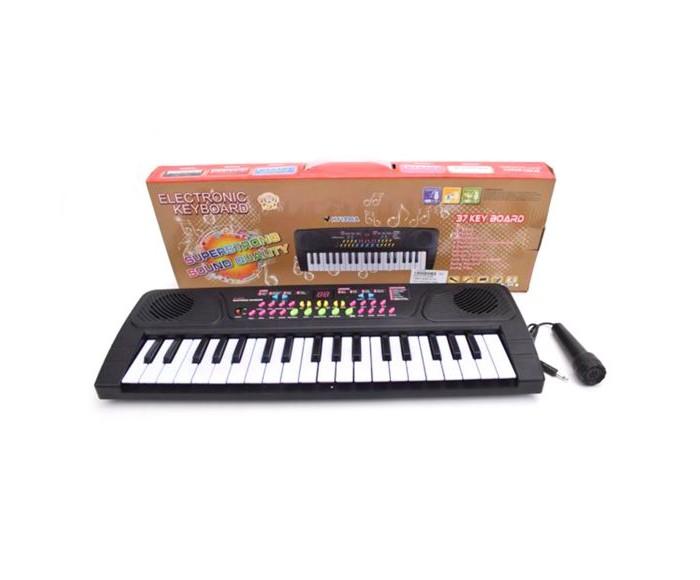 Музыкальные инструменты Наша Игрушка Синтезатор 37 клавиш HY1896A