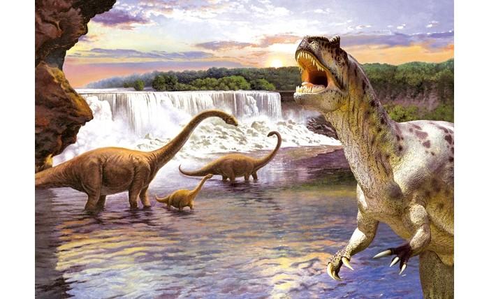 Пазлы Castorland Пазл Динозавры 2 260 элементов пазлы castorland пазл золушка 260 элементов
