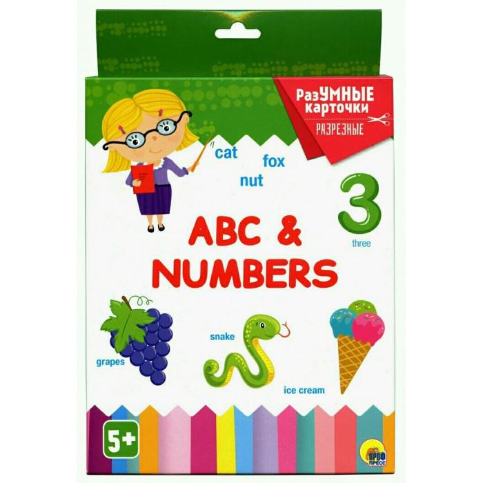 Раннее развитие Проф-Пресс Разумные карточки Abc numbers