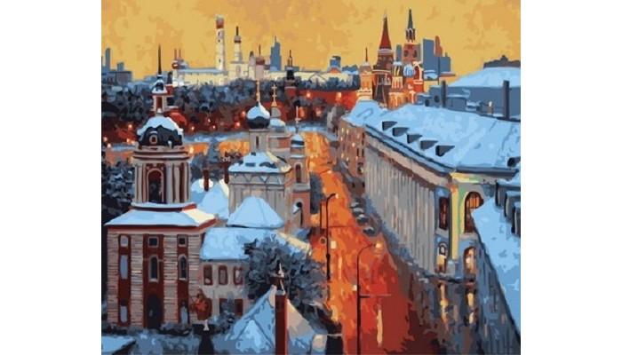 Купить Картины по номерам, Paintboy Картина по номерам Московский вечер