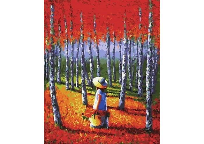 Купить Картины по номерам, Paintboy Картина по номерам Теплый лес