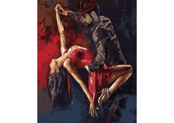 Фото - Картины по номерам Paintboy Картина по номерам Чувственный танец GX34481 картины по номерам paintboy картина по номерам веселый ангелок