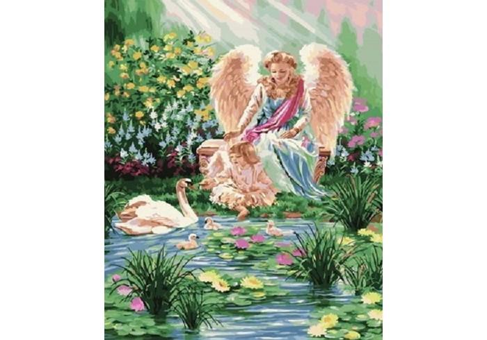 Фото - Картины по номерам Paintboy Картина по номерам Крылатые существа картины по номерам paintboy картина по номерам веселый ангелок