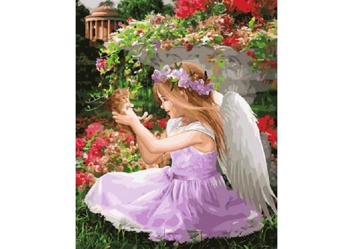 Фото - Картины по номерам Paintboy Картина по номерам Веселый ангелок картины по номерам paintboy картина по номерам веселый ангелок