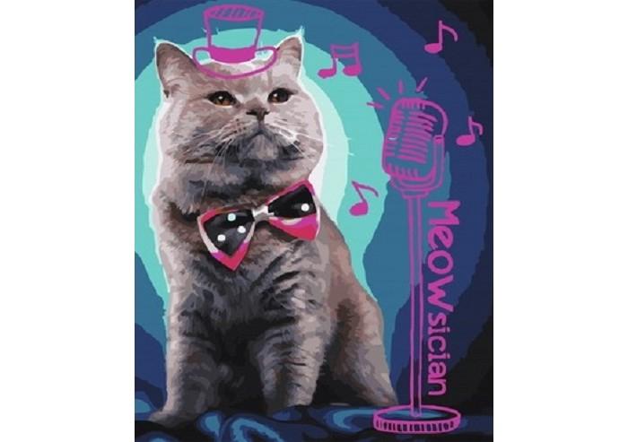 Картины по номерам Paintboy Картина по номерам Кошачьи песни