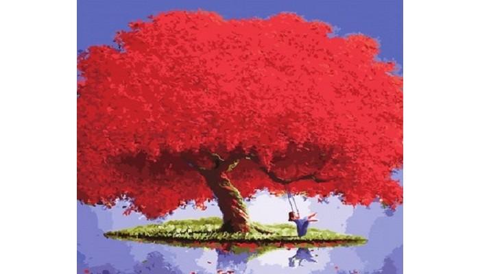 Фото - Картины по номерам Paintboy Картина по номерам Яркий красный картины по номерам paintboy картина по номерам веселый ангелок