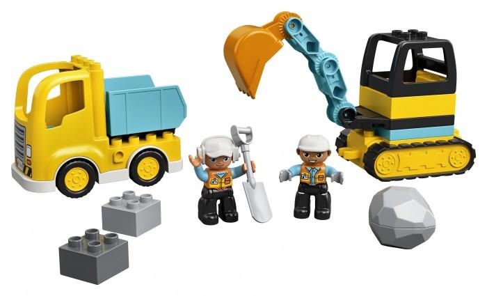 Купить Конструктор Lego Грузовик и гусеничный экскаватор