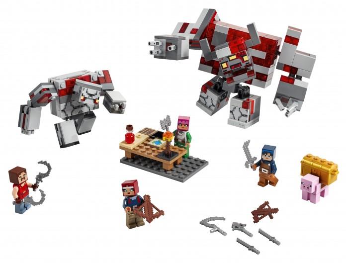 Lego Lego Minecraft Битва за красную пыль