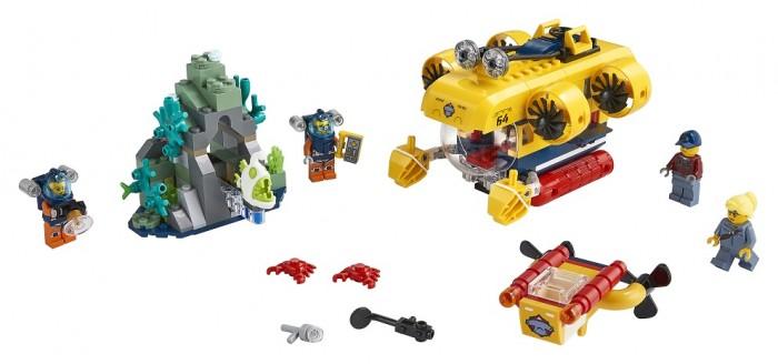 Конструктор Lego Океан Исследовательская подводная лодка