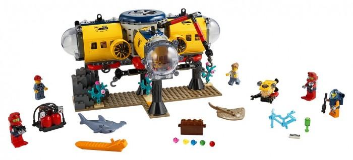 Конструктор Lego Океан Исследовательская база