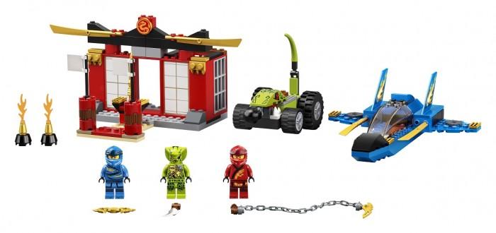 Конструктор Lego Бой на штормовом истребителе