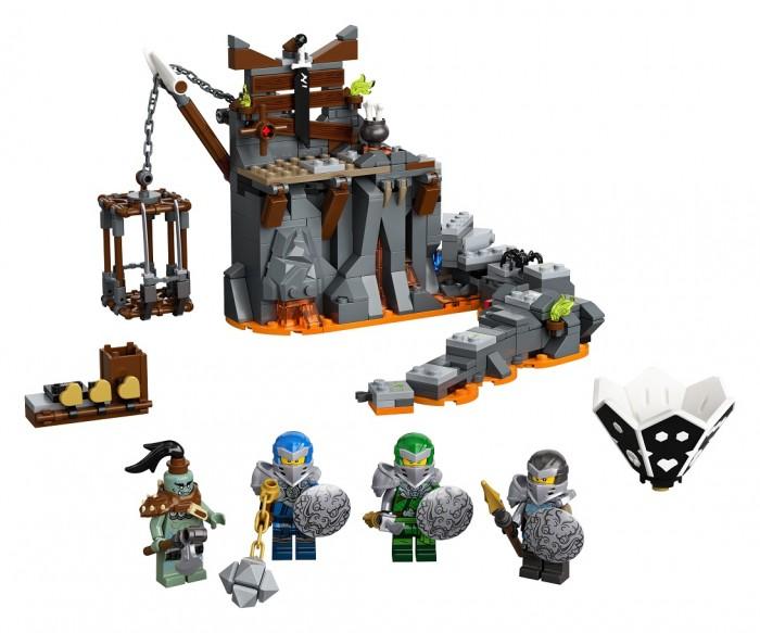 Конструктор Lego Путешествие в Подземелье черепа