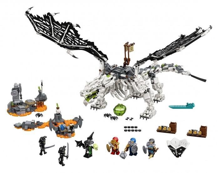 Фото - Lego Lego Ninjago Дракон чародея-скелета конструктор lego ninjago 70599 дракон коула