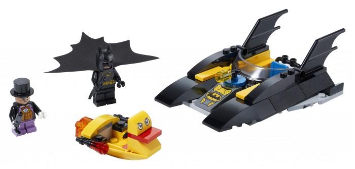 Конструктор Lego Погоня за Пингвином на Бэткатере