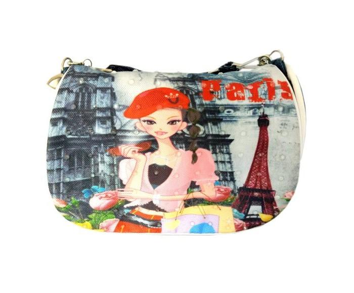 Фото - Сумки для детей Наша Игрушка Сумочка Весна в Париже 16х13 см сумки для детей наша игрушка сумочка радуга 20х16 см