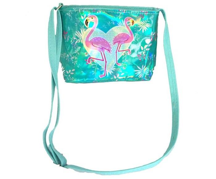 Фото - Сумки для детей Наша Игрушка Сумочка Голограмма Фламинго 20х16 см сумки для детей наша игрушка сумочка радуга 20х16 см