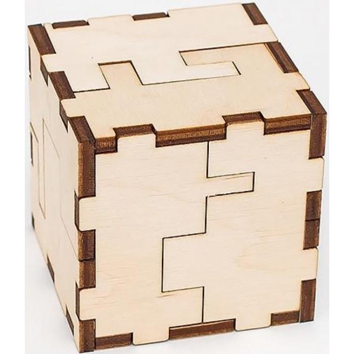 Конструкторы Eco Wood Art головоломка Ewa Cube 3D puzzle
