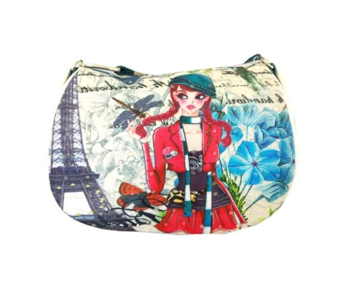 Фото - Сумки для детей Наша Игрушка Сумочка Лето в Париже 16х13 см сумки для детей наша игрушка сумочка радуга 20х16 см