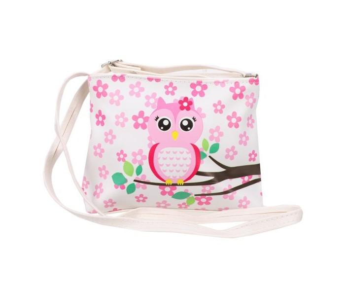 Фото - Сумки для детей Наша Игрушка Сумочка Совушка весенняя 20х16 см сумки для детей наша игрушка сумочка радуга 20х16 см