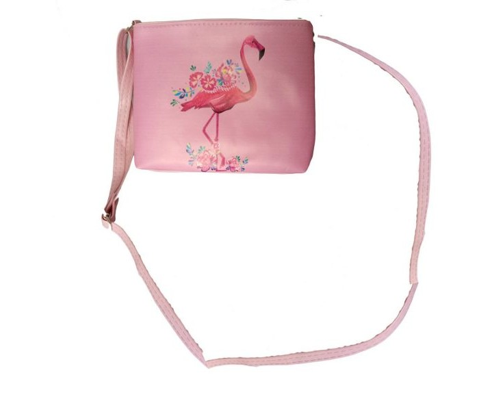 Фото - Сумки для детей Наша Игрушка Сумочка Фламинго 20х16 см сумки для детей наша игрушка сумочка радуга 20х16 см