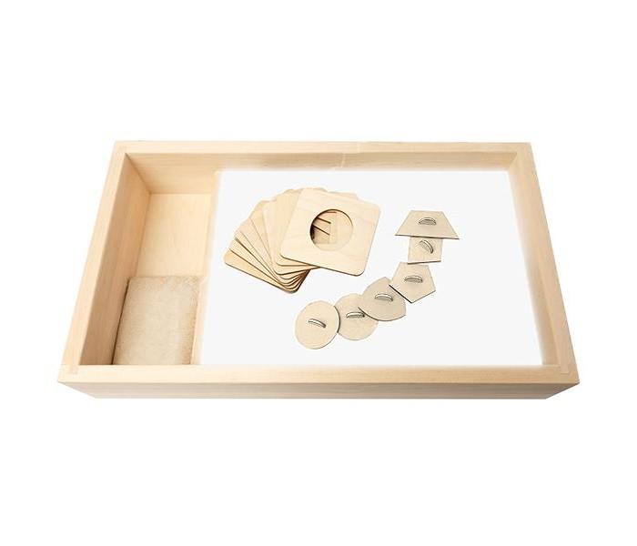 Картины своими руками Нумикон Стол для рисования песком Малыш с отсеком и белой подсветкой 30х50