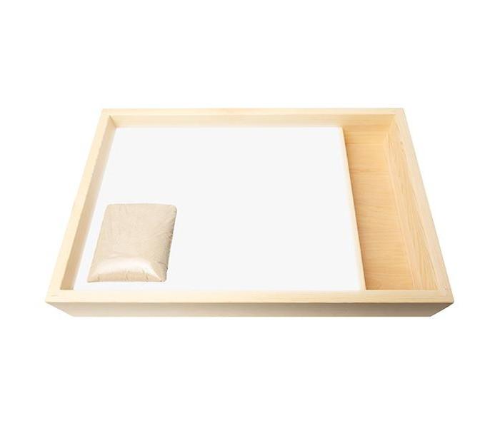 Картины своими руками Нумикон Стол для рисования песком Мини с отсеком и белой подсветкой 40х60