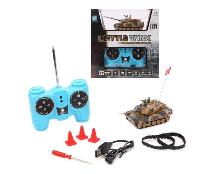 Картинка для Радиоуправляемые игрушки Наша Игрушка Танк на радиоуправлении 1:64