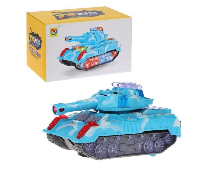 Машины Наша Игрушка Танк электрифицированный 3311 игрушка