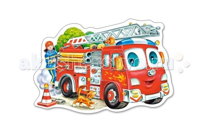Пазлы Castorland Пазл MIDI Пожарная машина 15 элементов пазлы magic pazle объемный 3d пазл эйфелева башня 78x38x35 см