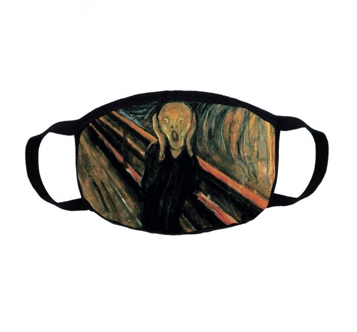 Фото - Аптечки Kawaii Factory Маска трикотажная многоразовая двухслойная Крик аксессуары kawaii factory маска для сна deleting