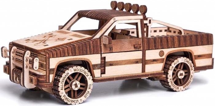 Купить Конструкторы, Конструктор Wood Trick механический 3D-пазл Пикап WT-1500