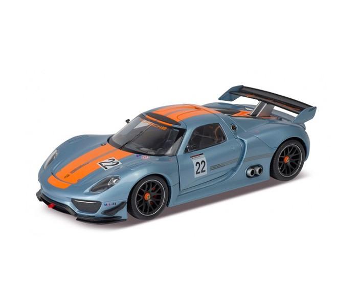 Машины Welly Модель машины 1:24 Porsche 918 Rsr welly модель машины 1 24 aston martin v12 vantage welly